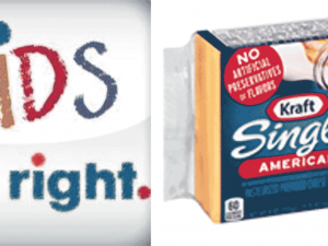 "Kraft Singles gets OK to use ""Kids Eat Right"" logo"