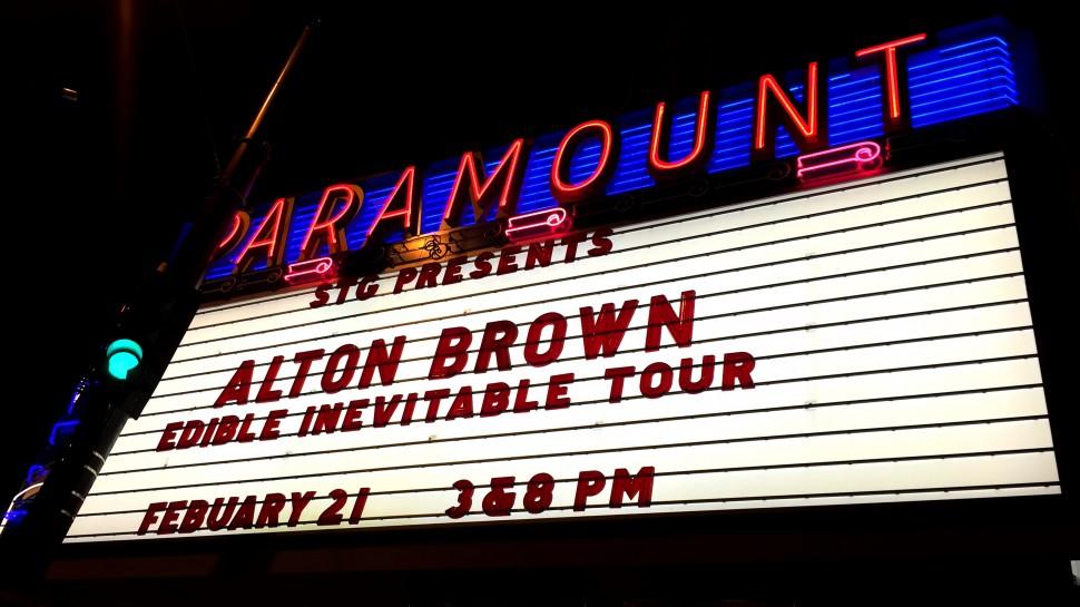 alton brown seattle