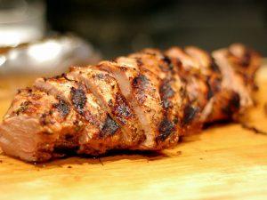 Recipe: Pork Tenderloin With Bourbon-Molasses Marinade